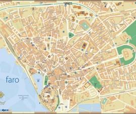 Map of Faro