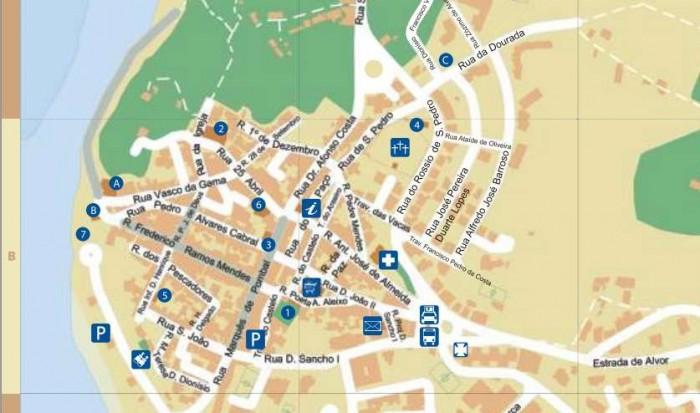 Map Alvor