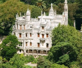Sintra - Quinta da Regaleira by Christoph Wolf @Wikimedia.org