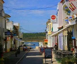 Alvor Portugal - Commercial Street