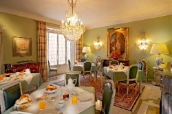 casa da pergola hotel breakfast room