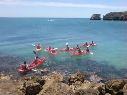 ocean kayaking  Algarve