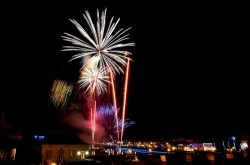Tavira - New Year's Eve Fireworks by  Ron Isarin @ Flickr