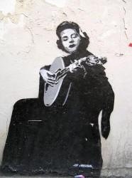 Lisbon - Fado Music - Amalia Painting by Mosieur J. @Wikimedia.org