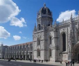Lisbon - Jeronimos Monastery by Alvesgaspar @Wikimedia.org