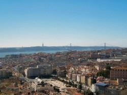 Lisbon - Pombaline Downtown Overview by Filipe Rocha @Wikimedia.org