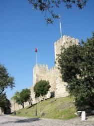 Lisbon - St George Castle by Manuel Gonzalez Olaechea @Wikimedia.org
