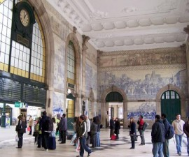 Porto - Sao Bento Train Station by Cornelius @Wikimedia.org